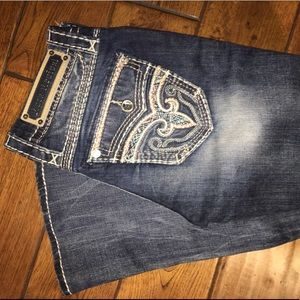 Rock revival bootcut